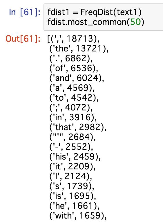 自然言語処理入門 -NLTKを使ってみる- | fukuの犬小屋